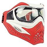 GI Sportz V-FORCE Grill Paintball Mask/Goggle - SE - White on Red