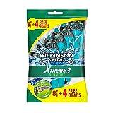 Wilkinson Sword Xtreme 3 Sensitive - Pack de 8 + oferta