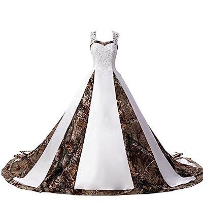 Amazon Com Camo Wedding Dresses,Plus Size Wedding Dresses St Louis