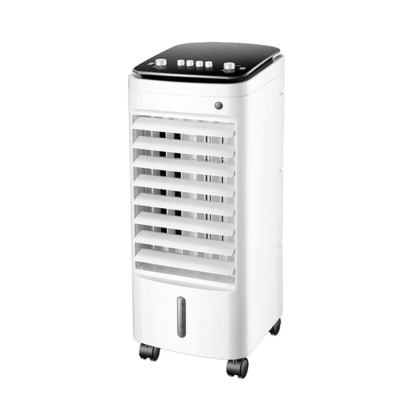 Space coolers Portable Water-Cooled Air Coolers Move Evaporative Air Conditioner Living Room Bedroom White