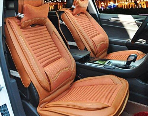 AMYMGLL Coussin de voiture RÉGL.GÉNÉRAUX Linge édition Deluxe (8SET) Pad Universal Car Cover Four Seasons Options universelles 7 couleurs , 4