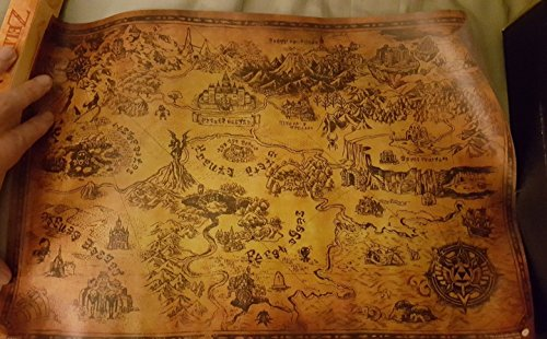Loot Crate Legend of Zelda Hyrule and Termina Map Link Poster Print Nintendo 11' x 17'