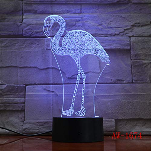 jiushixw 3D acryl nachtlampje met afstandsbediening kleurverandering tafellamp geschenk kraan draadloze muur massief eiken tafellamp knipperen