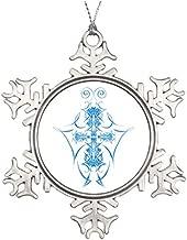 Tree Branch Decoration Abstract Tribal Design Wedding Snowflake Ornaments Christmas Snowflake Ornaments