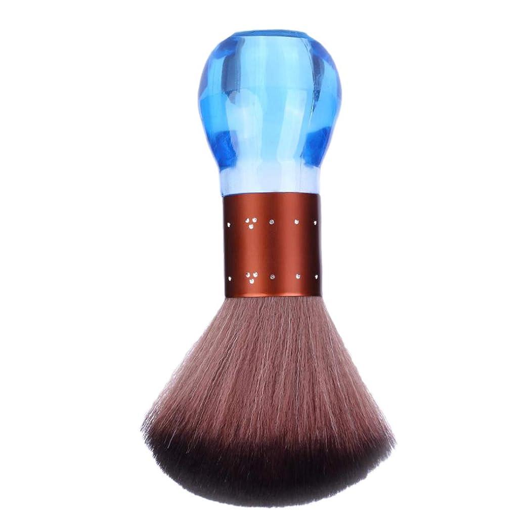 黒家族暴力的なCUTICATE ヘアカットブラシネックダスター洗浄理髪美容掃除ヘアブラシ
