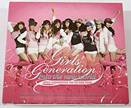 SNSD Girls' Generation - 1st Asia Tour: Into The New World 2CD+Photo Booklet+Extra Gift Photocards Set