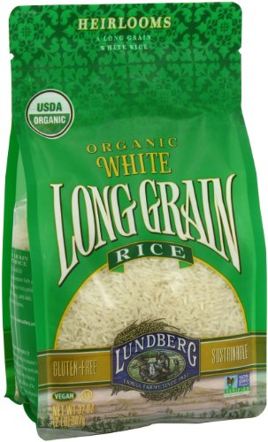 Lundberg Family Farms Organic Long Grain Rice, White, 32 Ounce (Pack of 6)