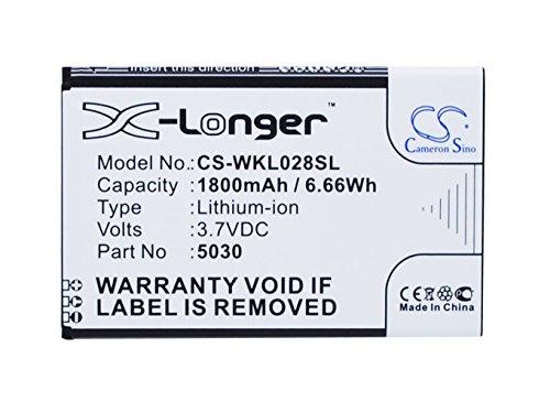 CameronSion - Batería para Wiko Lenny 2 3 5030 (1800 mAh)