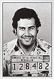 Poster, Motiv: Pablo Escobar Mugshot El Patron Kingpin