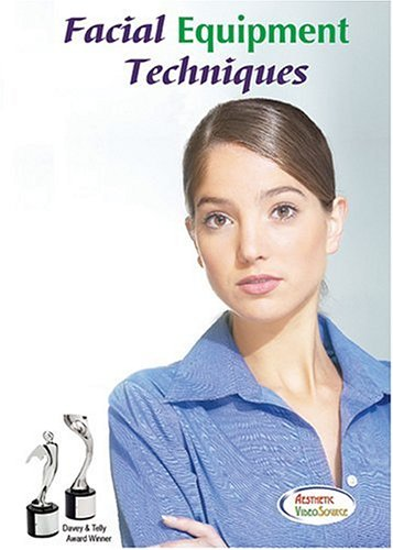 Facial Equipment Techniques DVD, 8-in-1 Facial Machine Training - Includes Treatments Using High Frequency, Steamer, Magnifying Lamp, Infrared Light, Woods Lamp, CO2 Spray, Vacuum...