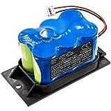 TECHTEK batería sustituye 110089-S, para 120089, para BRA110, para MB1125P Compatible con [B.Braun] Infusomat FMS, Infusomat P