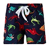 Funnycokid Baby Jungen '3D Graphic Swim Badeshorts Kinder Schnelltrocknend Strand Sweatpants Shorts Badeanzug für Jungen