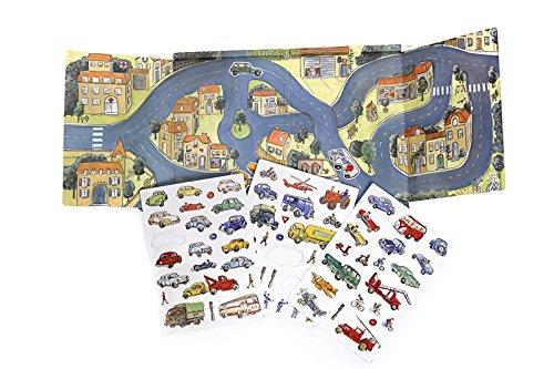 Heico - 630657 - Egmont Toys Magnetic Car Game