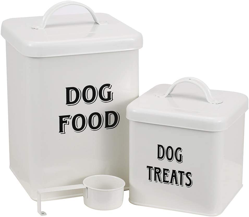 Max 79% OFF Morezi Pet Food and Treats Containers Scoop Set Max 66% OFF for with or Cats