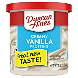 Duncan Hines Creamy Vanilla Frosting, 8 - 16 OZ Cans...