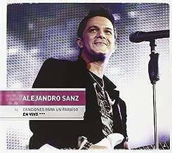 Canciones Para Un Paraiso En Vivo (CD/DVD) by Alejandro Sanz (2010-11-16)