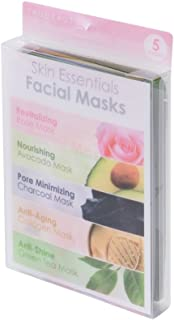 Tru Beauty, Face Mask Set, Skin Essentials, Facial Care Product - Pack of 5