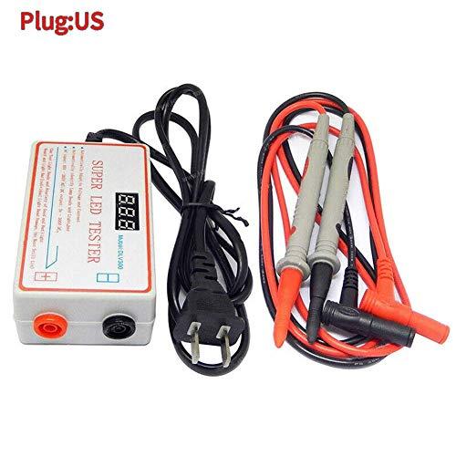 Lámpara LED y TV Retroiluminación Comprobador Tira Luces LED Reparación Salida 0-330V - Enchufe Eeuu, 3.9 x 1.4 x 2.2''