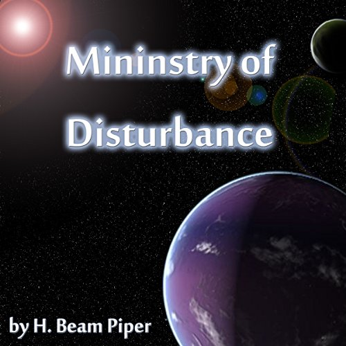 Ministry of Disturbance audiobook cover art