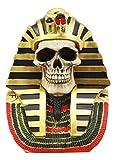 Ancient Egyptian Pharaoh Skull King TUT Skeleton Bust MASK Statue Tutankhamun