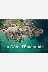 La côte d'Emeraude: Photo aérienne de la Côte d'Emeraude. Calendrier mural A4 horizontal 2016 Fournitures diverses