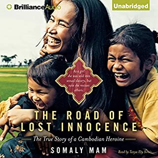 The Road of Lost Innocence audiobook cover art