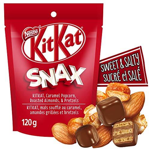 KIT KAT NESTLÉ KITKAT Snax, Bite Sized Chocolatey Wafer Snack Mix, 120 g, 120 Grams