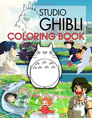 Ghibli Studio Coloring Book: Coloring Books Of Ghibli Studio Collection For Kids And Adults