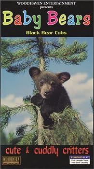 Cute & Cuddly Critters  Baby Bears  Black Bear Cubs  [VHS]
