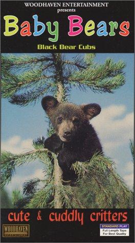 Cute & Cuddly Critters: Baby Bears (Black Bear Cubs) [VHS]