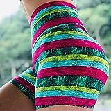 bayrick Mallas Push up Mujer Leggings,Pantalones Calientes de Yoga de impresión Digital Hombres elásticos Femeninos High Cintura Trasajas de Fondo-Verde_3XL