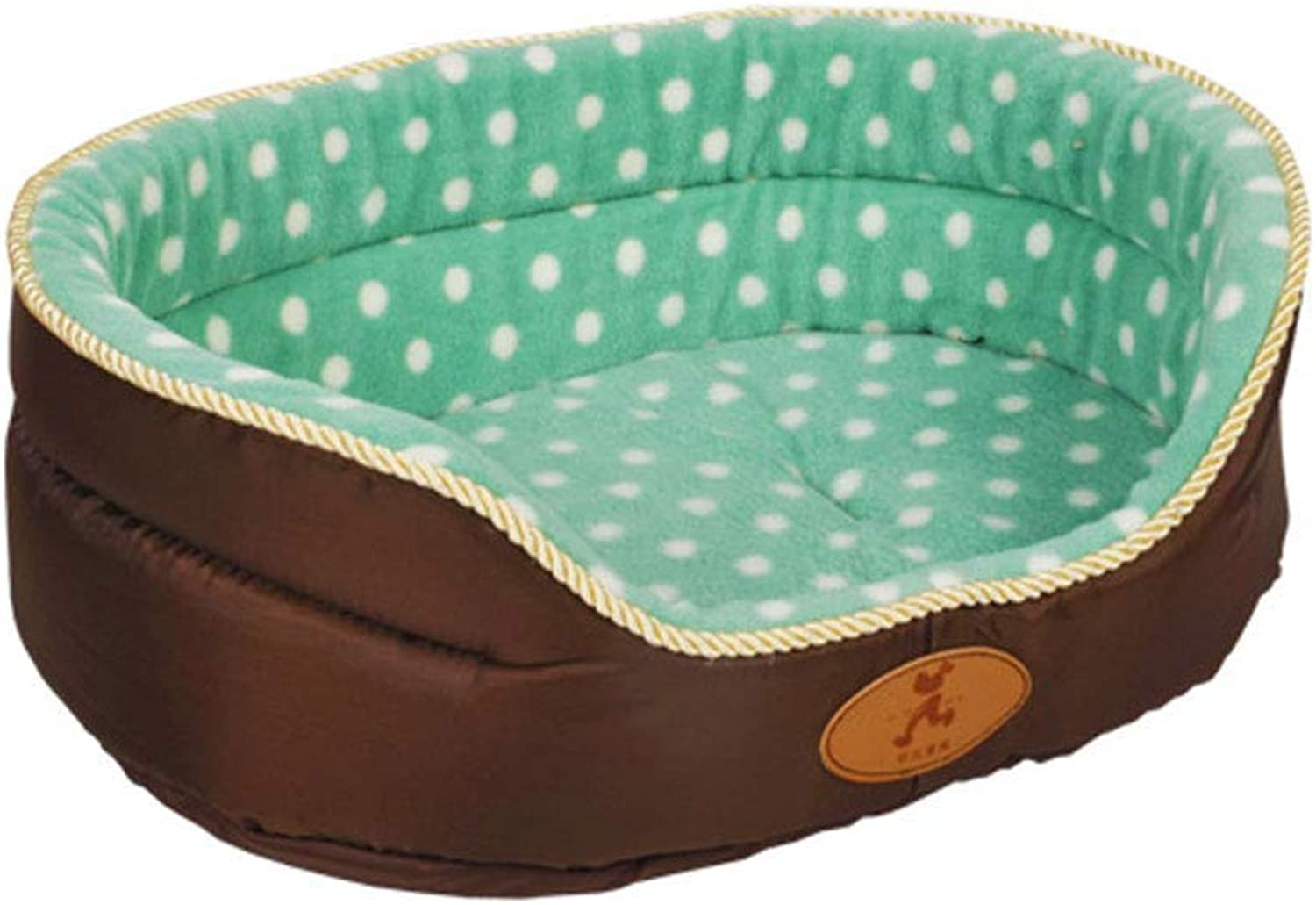 Fuxitoggo Pet Bed Plush Washable Deluxe Soft Comfy Cat Dog Bed Waterloo Removable Cushion (color   No cushionB, Size   80  70  22cm) (color   No Cushiond, Size   45  37  17cm)