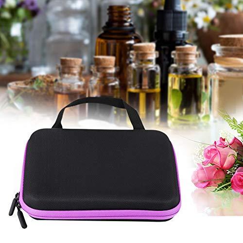 Organisateur d'huile essentielle de conception anti-crash, sac de stockage d'huile essentielle, portable pour voyager pour la maison(purple)