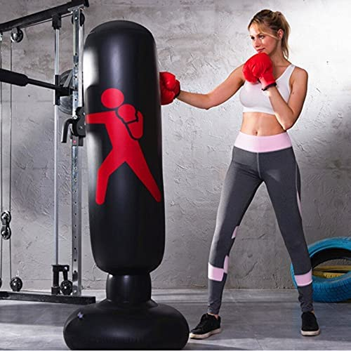 FFOO Boxing Max 52% shop OFF Bag Punching Bags Tumble Inflatable Post Pile