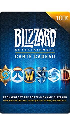 Carte cadeau Blizzard 100 EUR | Téléchargement PC - Code