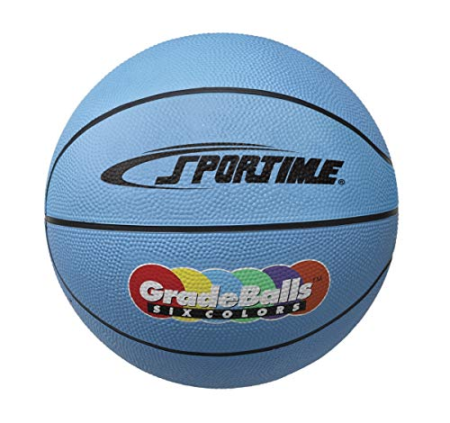 Great Features Of Sportime 1599263 27 in. Gradeball Rubber Junior Basketball44; Blue