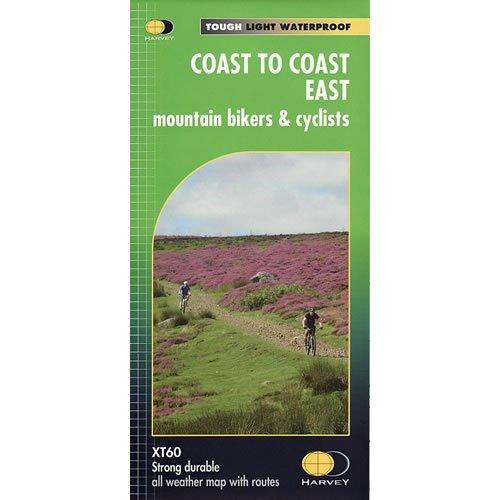 Coast to Coast East Mountain Bikers & cyclists map