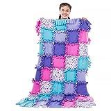 Melissa & Doug Created by Me! Star Fleece Quilt Kit