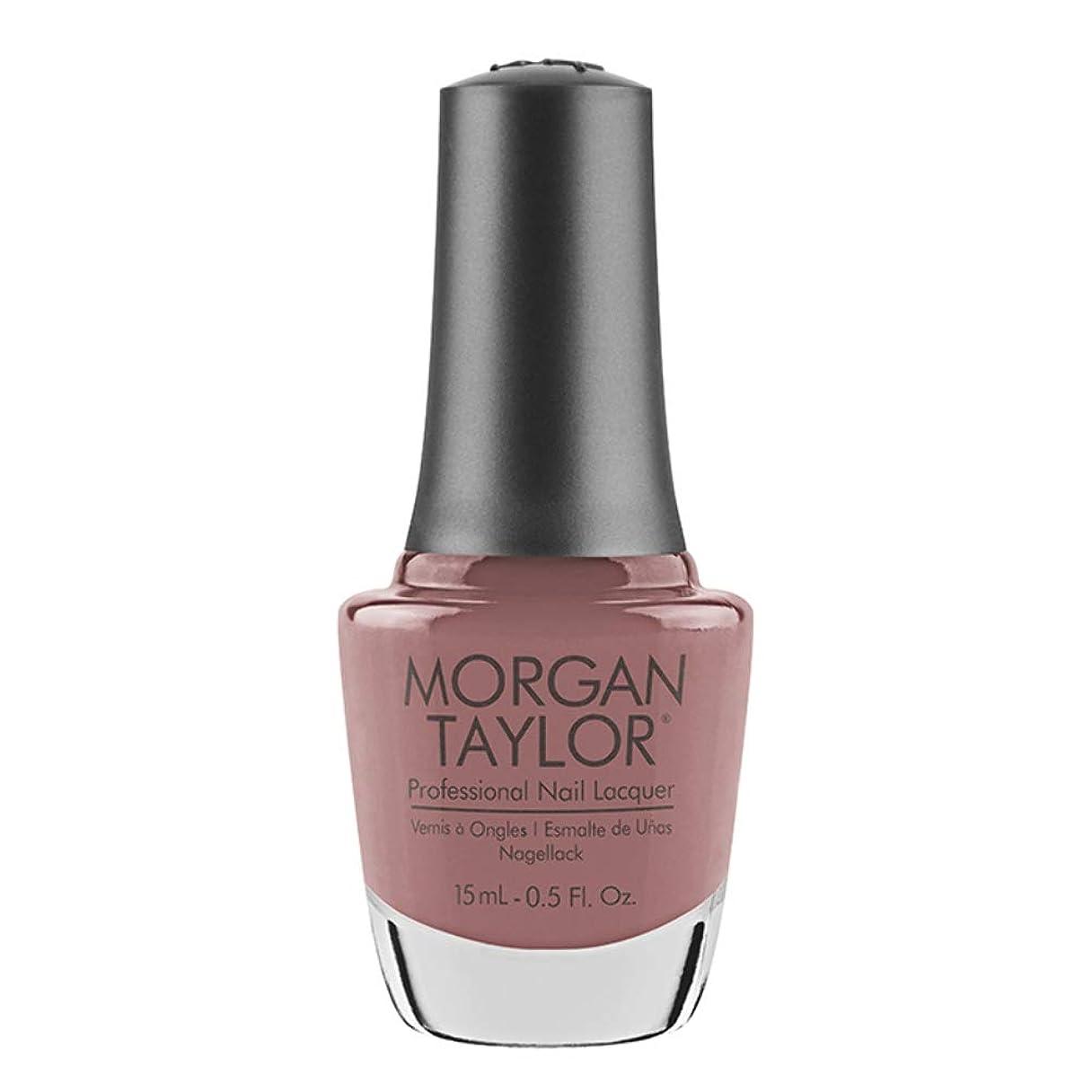 警報試してみるカラスMorgan Taylor - Professional Nail Lacquer - Mauve Your Feet - 15 mL / 0.5oz