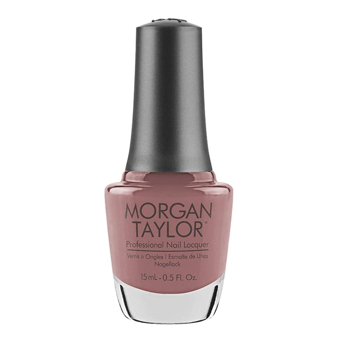 雪援助する調整可能Morgan Taylor - Professional Nail Lacquer - Mauve Your Feet - 15 mL / 0.5oz