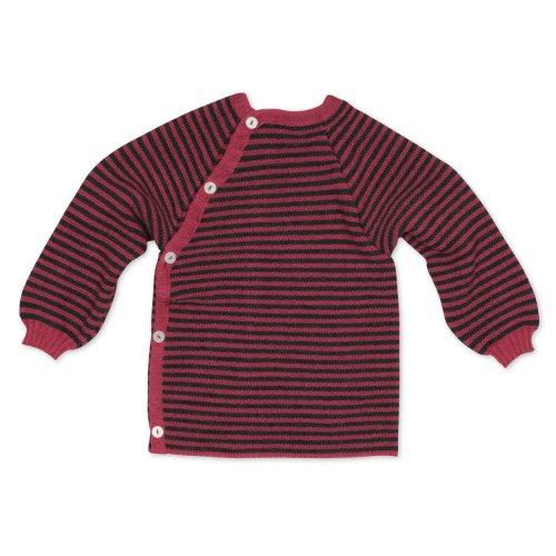 Reiff - Ringelschlüttli 86/92 in pink/fels - erstellt von Wollbody®