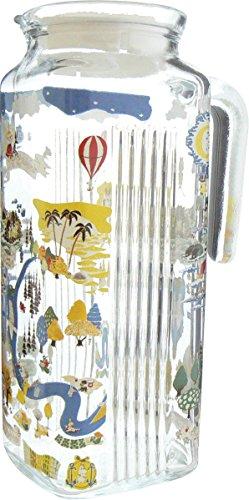 ムーミン ピッチャー ムーミン谷 ガラス 日本製 1リットル 540163