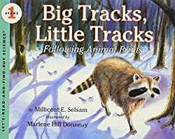 Big Tracks, Little Tracks:  Following Animal Prints (Let's-Read-and-Find-Out Science, Stage