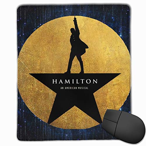 Musicals Hamilton Office Mouse Pad Game Computer PC & Laptop Mouse Mat