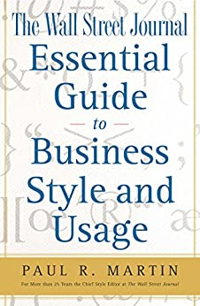 The Wall Street Journal Essential Guide to Business St (Wall Street Journal Book) by [Paul Martin]