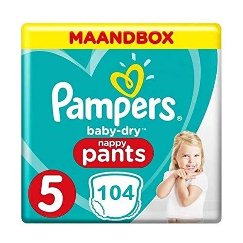 Pampers Maat 5-104 Luierbroekjes - Pantalones secos para bebé
