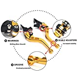 TARAZON CNC Bremshebel Kupplungshebel Set Verstellbar passende CBR600F/S/SA 2010-2013/CB600 F/S...