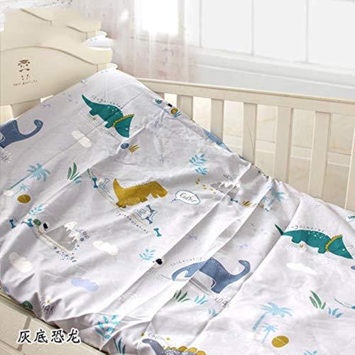 LLine Housse de Matelas en Coton pour Drap-Housse imprimé pour lit de bébé avec Drap de lit pour Nouveau-né élastique, literie pour Nouveau-né, huidikonglong