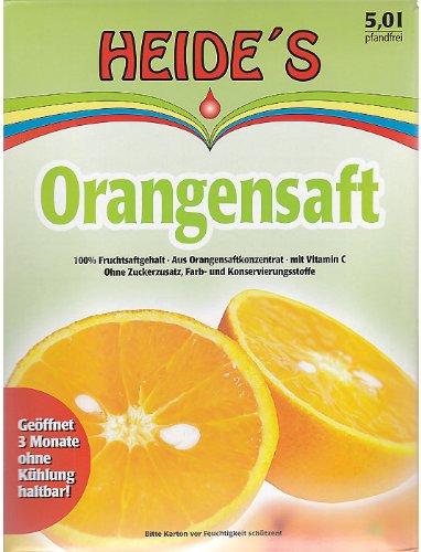 Orangensaft, 5 Liter