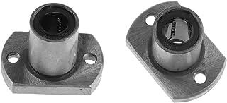 SM SunniMix 2 Unids 8mm Tipo Largo Rectángulo Brida Router Linear Bujes Rodamientos 3D Priter